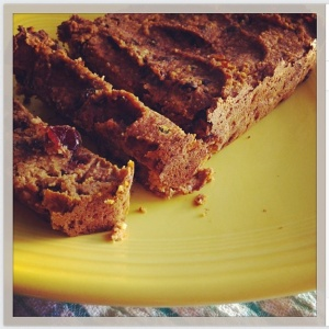 Almost Paleo Pumpkin Bread
