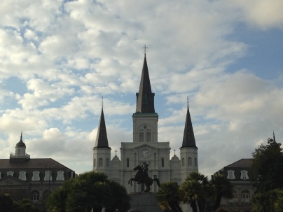 Incredible view at Jackson Square