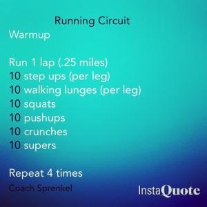 Running Circuit