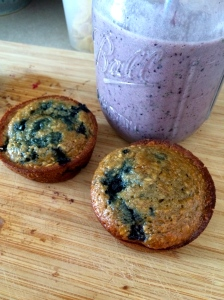 Blueberries two ways!