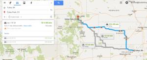 Heading West!